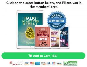 Halki Diabetes Remedy order page