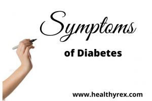Common symptoms of type 2 diabetes