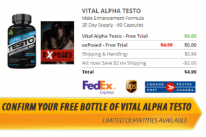 Vital Alpha Testo Free Trial and How Much Does It Cost