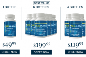 The GRS Ultra Price. How Much Does GRS Ultra Cell Defense Cost